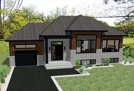 Saphir avec garage - Construction Sylvain Paradis inc.