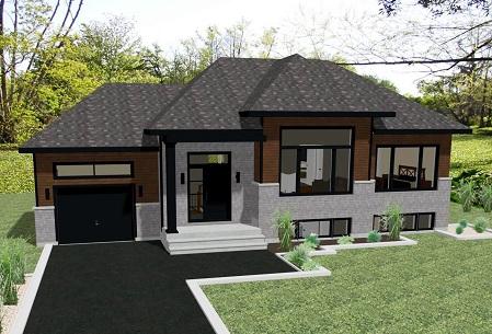 Maison contemporaine plain pied avec garage ventana blog - Maison plain pied avec garage ...
